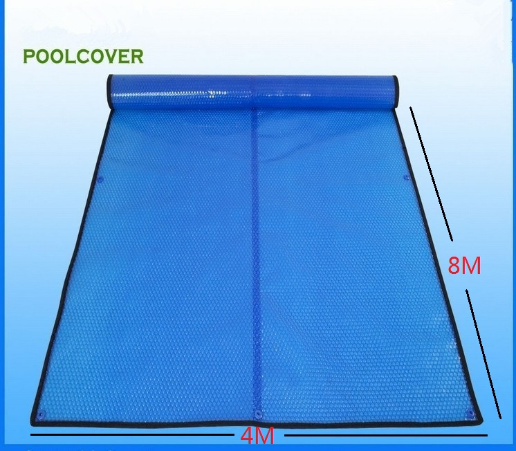 4*8m Customized & wholesale swimming pool cover / solar cover / solar blanket / solar pool cover 400 um,Bubble Cover(China (Mainland))