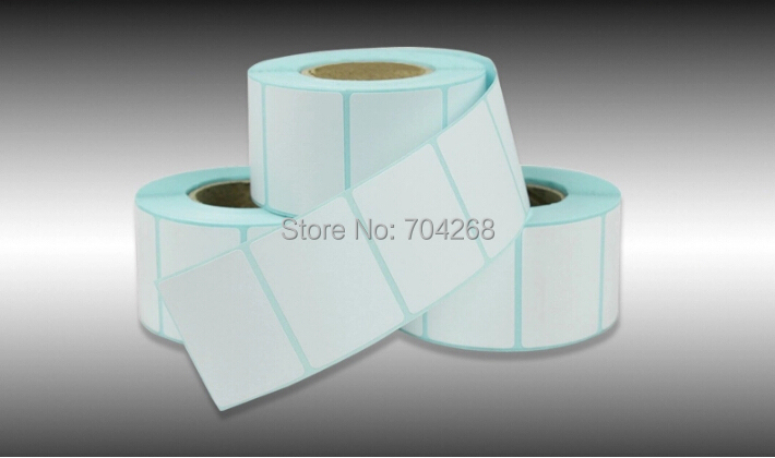 40*30 800 roll Thermal adhesive label paper heat-variable clothes sticker bar code - Senior Purchaser store