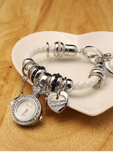 El nuevo 2015 ms colgante pulsera relojes, lujo del taladro del sistema caja de reloj. ocio reloj de cuarzo. envío gratis