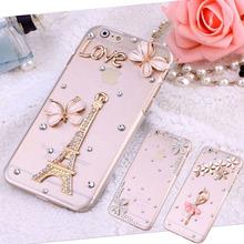 Buy New Phone Cases iPhone 4 5S SE 5C 6 6S 6Plus 6sPlus 7 7Plus 3D Luxury Bling Rhinestone Gem Daisy Eiffel Ballet Girl Case for $2.99 in AliExpress store