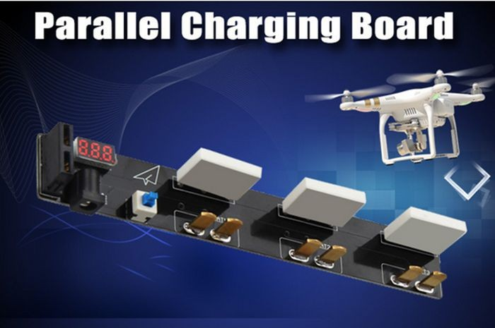 DJI phantom 3 Accessories Battery Chargers Multi-charging board Fast and filling plates