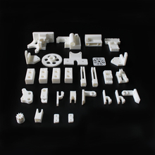 RepRap Prusa Mendel i3 PLA plastic Parts Kit DIY Prusa i3 Acrylic frame 3D Printer printed parts – White Free Shipping