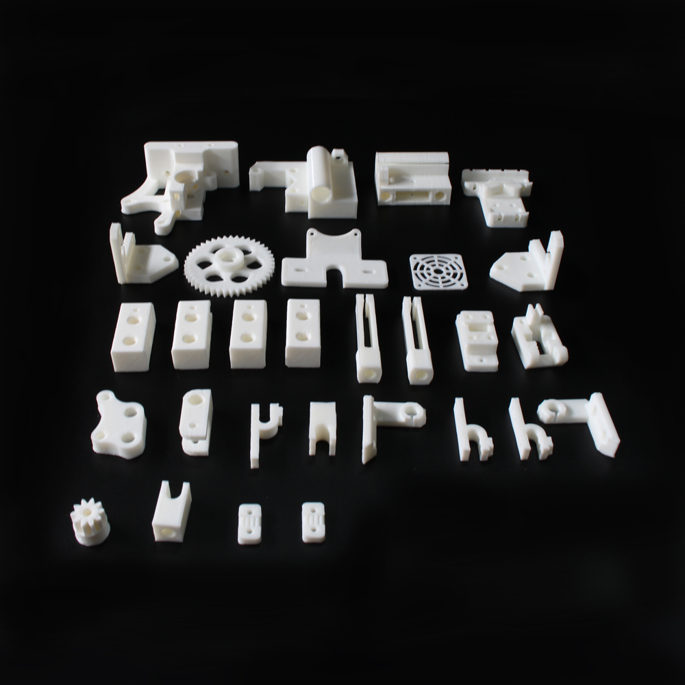 RepRap Prusa Mendel i3 PLA plastic Parts Kit DIY Prusa i3 Acrylic frame 3D Printer printed