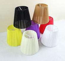 Pas cher noir dentelle abat - jour lustre discount, Moderne tissu abat - jour couvre livraison gratuite(China (Mainland))