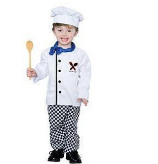 2016 Hot sale The new special costumes children photography Cosplay boys chefs clothing performance clothing Halloween clothes(China (Mainland))