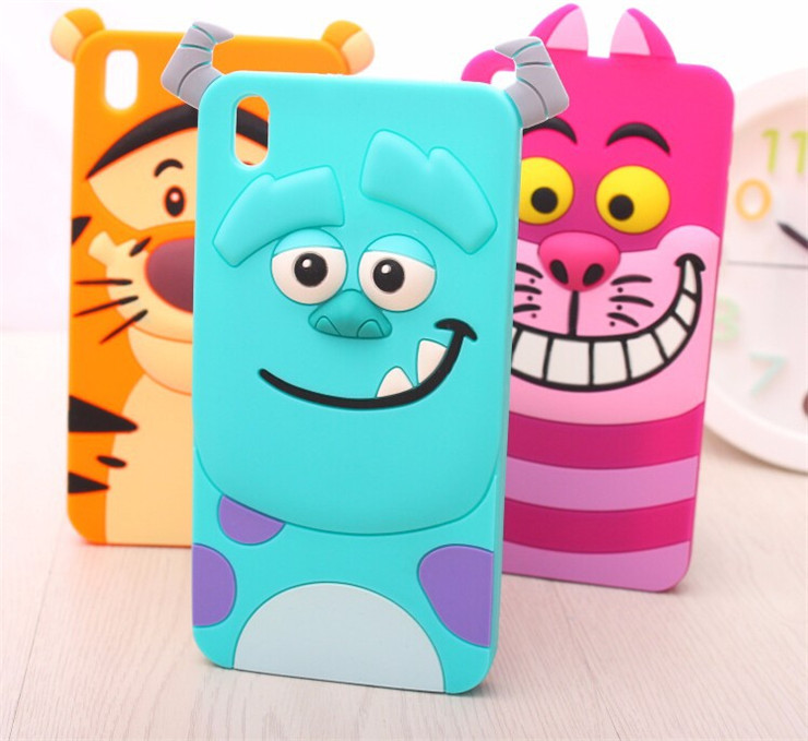 Retail Soft Silicon Material Sulley Tigger Cat Cute 3D Cartoon Design Case Cover Samsung Galaxy J1 J5 J7 - Shenzhen SinJee Technologies Co. Ltd Store store