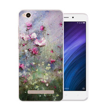 Buy xiaomi redmi 4a Case,Silicon beautiful flowers 3D relief Painting Soft TPU Back Cover xiaomi redmi 4a Phone Protective Case for $2.69 in AliExpress store
