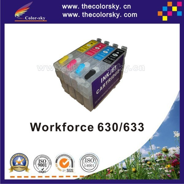 (RCE1401) refillable refill ink cartridge for Epson T1401/T1402/T1403/T1404 T140 T 140 BK/C/M/Y (with ARC chip) free shipping<br><br>Aliexpress