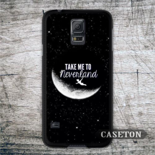 Peter Pan Quote Take Me To Neverland Case For Galaxy S6 Edge S5 S4 Active S3 mini Win Note 5 4 3 A7 A5 A3 Core 2 Ace 4 3 Mega(China (Mainland))