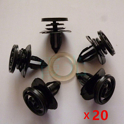 20x for Audi A4 Interior Door Card Fastener Clips Trim Panel Mounting Auto Car Accessories Styling(China (Mainland))