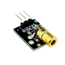 Buy Smart Electronics 10x KY-008 3pin 650nm Red Laser Transmitter Dot Diode Copper Head Module Arduino AVR PIC DIY Free for $2.88 in AliExpress store