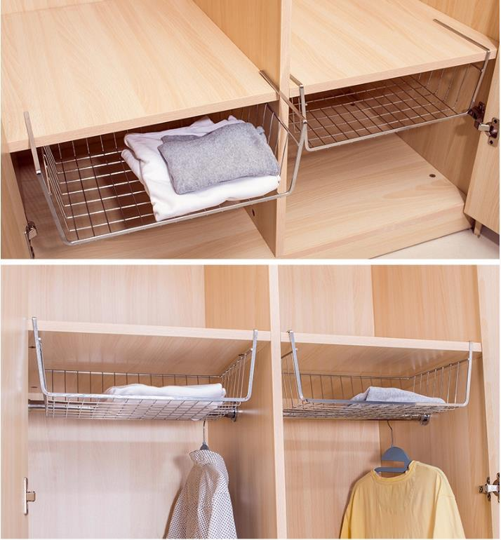 Home storage accessories hanging mug/clothes/ towel cabinet shelf underslung for clapboard need not install single non-fold rack(China (Mainland))