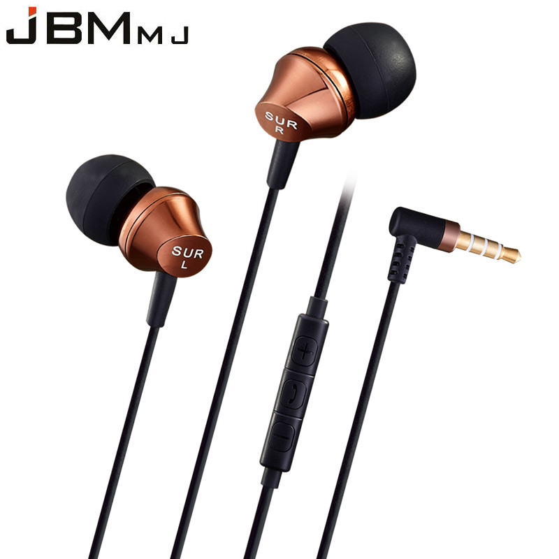 Original High-Quality Stereo Bass In-Ear Earphone Metal Handsfree Headset 3.5mm Earbuds for all Mobile Phone