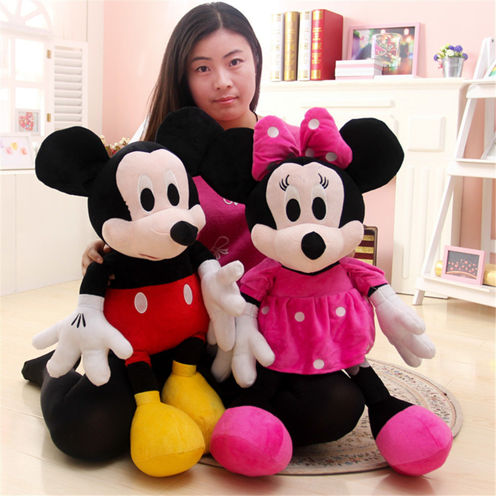 30cm Mickey Mouse And Minnie Mouse Toys Soft Toy Stuffed Animals Plush Toy dolls<br><br>Aliexpress