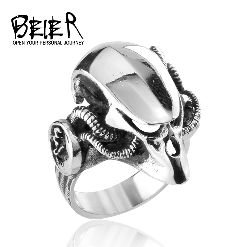 PREDATOR Movie Jewelry 8-13# US size Man's Stainless Steel Elder Predator Ring Man's High Quality Jewelry BR8239(China (Mainland))