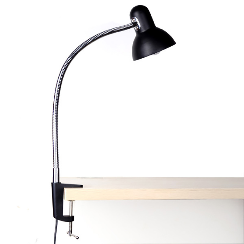 led clamp table desk lamp with versatile flexible neck reading lamp. Black Bedroom Furniture Sets. Home Design Ideas