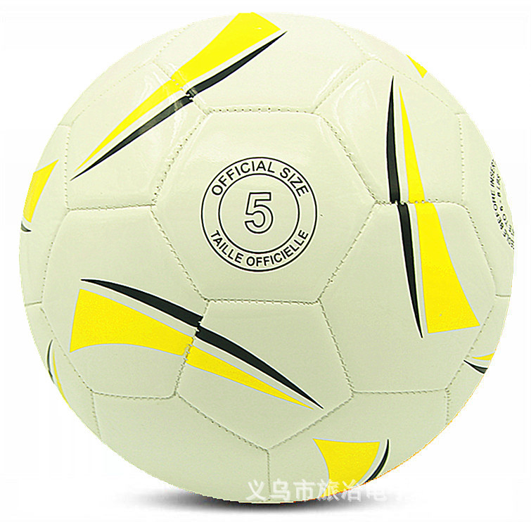 HOT SALE Anti-Slip 4mm PU Slip-Resistant Official Weight Size 5 Soccer Ball For Match Training(China (Mainland))