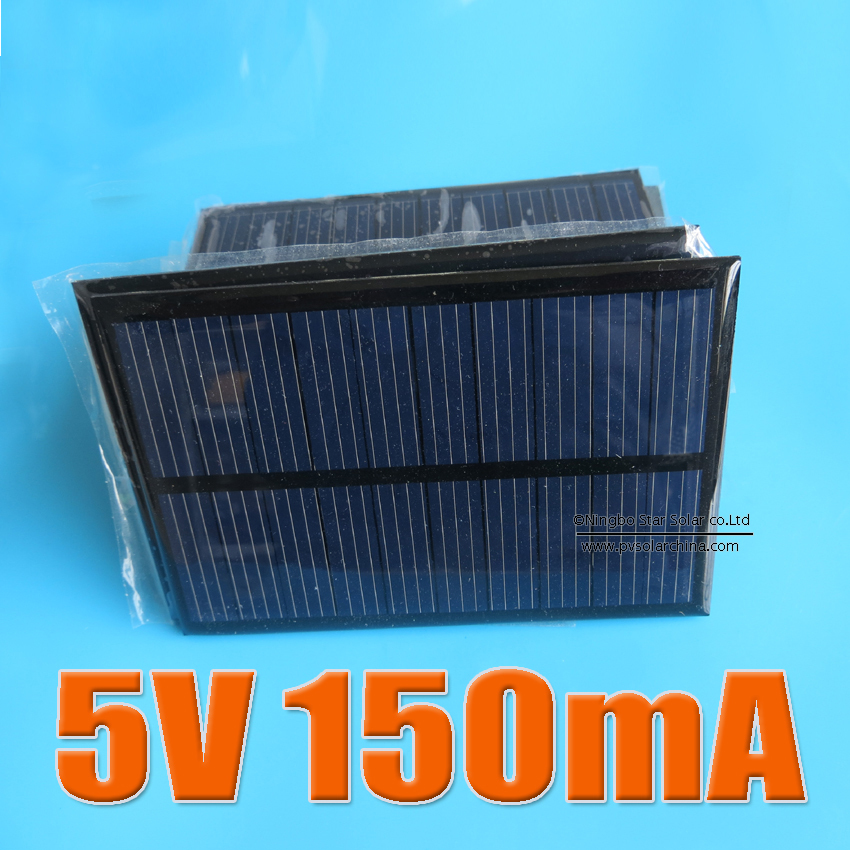 2PCS X 5V 150mA Mini monocrystalline polycrystalline solar Panel,5VDC solar cells module battery charger enducation kits(China (Mainland))