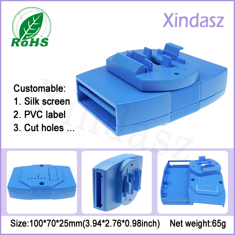100*70*25mm ABS Plastic Project Boxes handheld enclosure, plastic casing, handheld casing<br><br>Aliexpress
