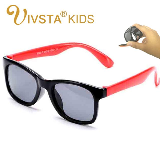 IVSTA 825 B Детские Солнцезащитные Очки детские Дети Солнцезащитные Очки для Мальчиков Прохладный Мягкие Силиконовые Резиновые Гибкие Поляризованные Линзы безопасный ремень