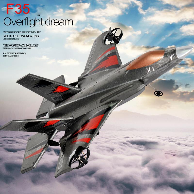 STUNT F-35 Lightning II Joint Strike Fighter model rc airplane 2.4G 4 Channels EPP foamAlmost Ready for RC Aircraft WS-9109(China (Mainland))