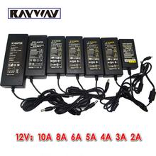 IP65 Waterproof Power Supply Input AC100-240V 50/60Hz Output DC 12V 2A-10A power adapter 3528 5050 5630 8520 LED Strip light