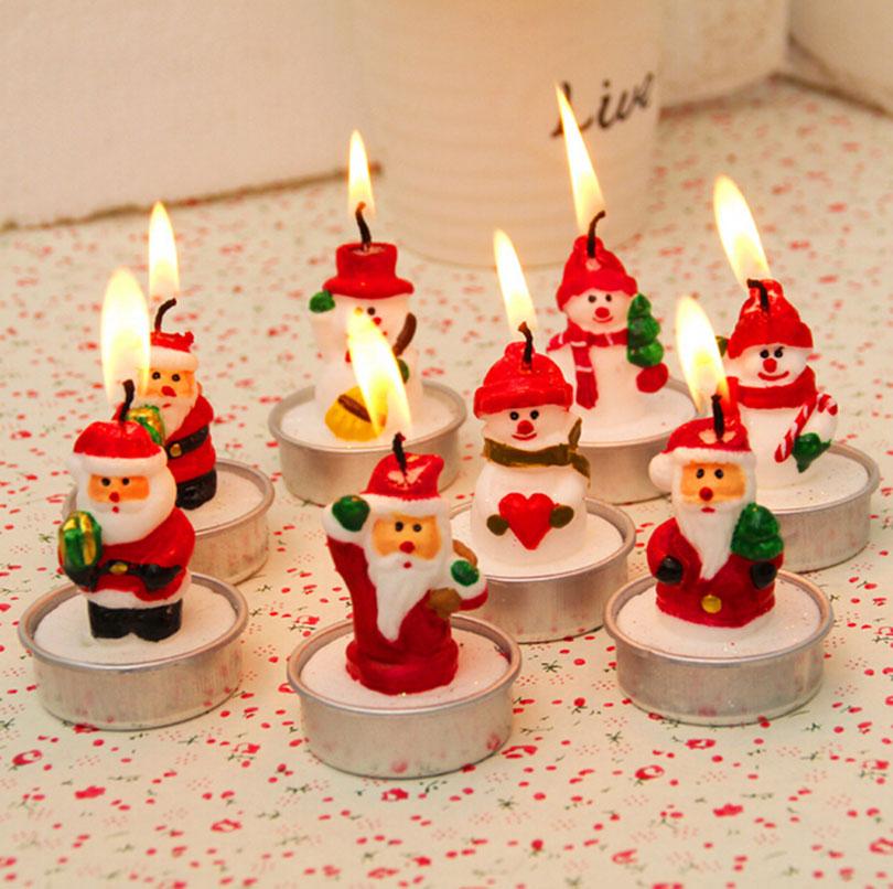 Comprar 4 unids lote candelero lindo a o for Decoracion del hogar en navidad
