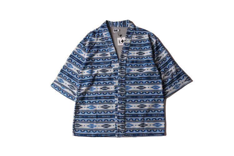 Hombres kimono japonés estilo de la rebeca capa de la chaqueta de impresión ocasional del verano hombres street fashion tops mujer camisetas hip-hop outwear Q318(China (Mainland))