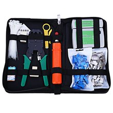 Portable Ethernet Network Cable Tester Kit RJ45 Crimper Plug Crimping tool Set Punch Down RJ11 Cat5 Cat6 Wire Line Detector(China (Mainland))