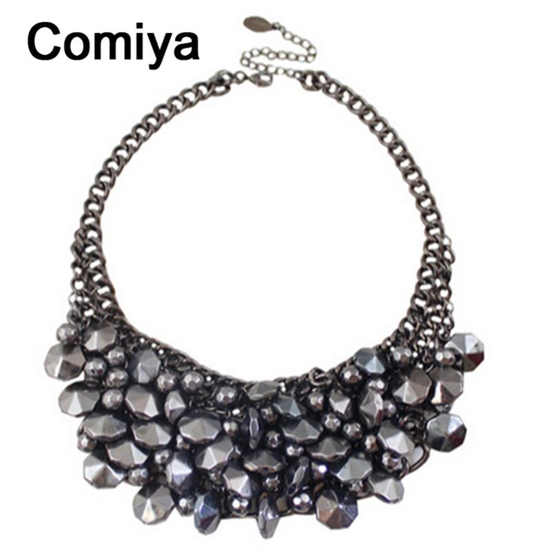 Stars black ethnic bohemia colar masculino necklaces & pendant zinc alloy personality statement necklace collare feminina bijoux(China (Mainland))