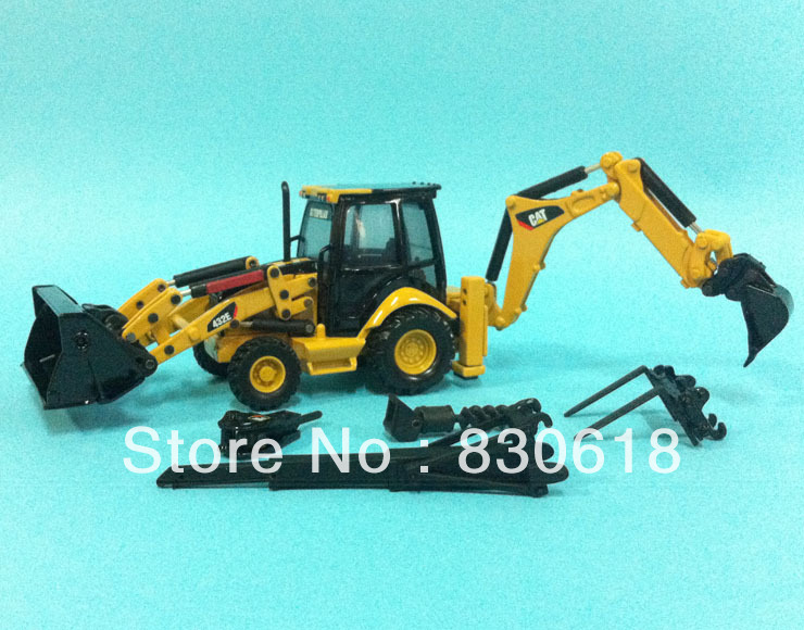 1:50 Norscot Caterpillar CAT 432E Side Shift Backhoe/Loader Die Cast model 55149 toy(China (Mainland))