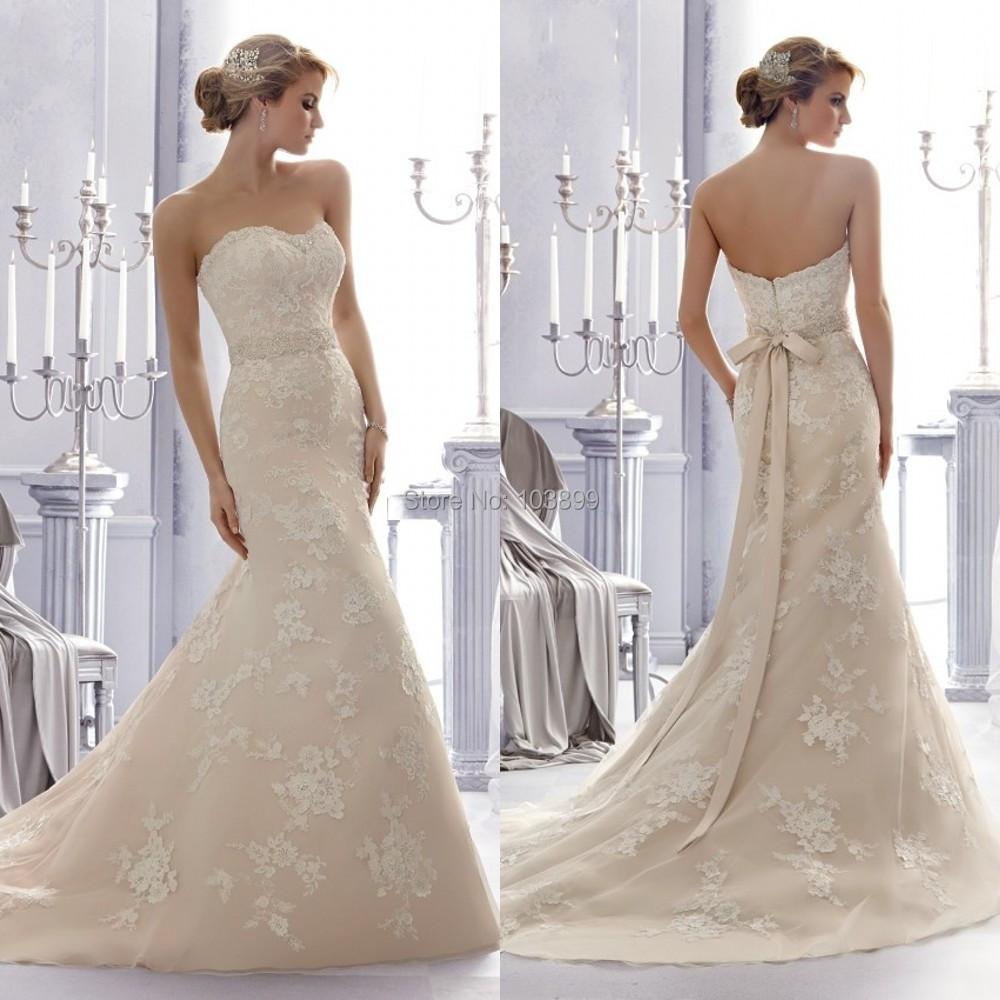 Luxurious sweetheart beading sash court train organza lace for Sexy sheath wedding dress