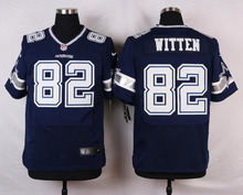 Dallas Cowboys #22 Emmitt Smith Elite White and Navy Blue Team Color High quality free shipping(China (Mainland))