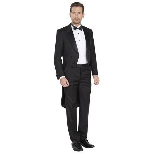 Men formal performance suits tuxedo slotted elegant man suit lapel peak can custom-made twinset coat - Shiji Qingyuan Wedding Dress store
