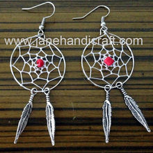 HOT SALE! Shipping Free hot sale 12pairs Native Indian Dream Catcher earring(China (Mainland))