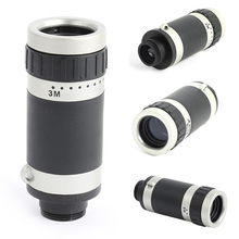 Hot For iPhone 6 8X Zoom Optical Telescope Telephoto Camera Lens Kit Case Cover New