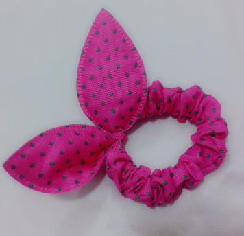 Fashion headwear Rabbit girl hair ring Rabbit ears elastic hair bands whit different color