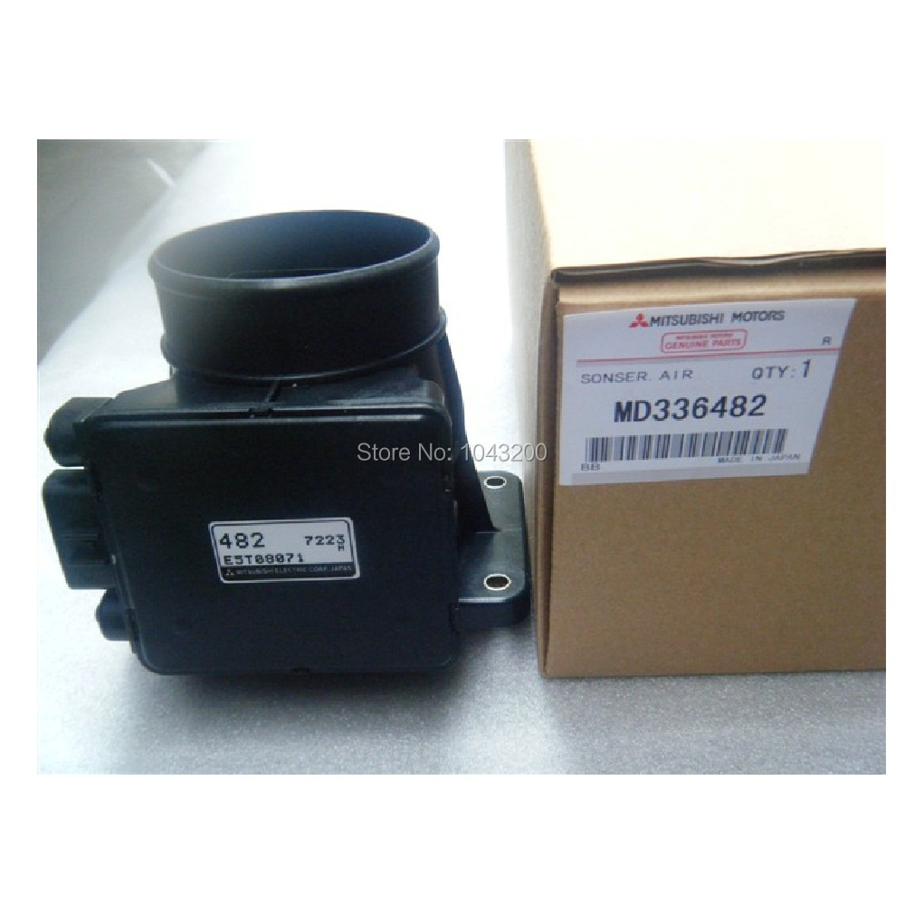 MD336482 Original 95-97% NEW 1991-2006 For Mitsubishi Pajero Montero Sport Mass Air Flow Sensor Meter MAF AFM 482 E5T08071 <br><br>Aliexpress
