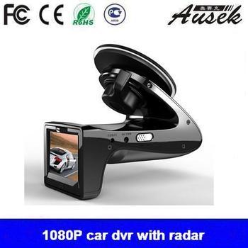 Newest HD 1080p Car DVR Camera Recorder with E-dog Radar Detector G-sensor Car Black Box Camera Radar Detection  freeshipping