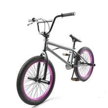 Стальная рама 20 дюймов bmx велосипед мужской performance bike orange/красный шины не складной велосипед для шоу горячая волк задний тормоз V велосипед(China)