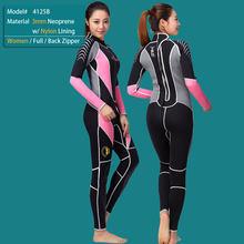 5mm Wetsuits Premium Neopreen Nat Pak Full Body w/Warme Fleece Voering Duiken, Snorkelen, surfen Mannen/Vrouwen (5mm 3mm 1.5mm)(China)