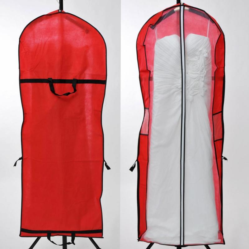Aliexpress.com  Buy Length 155cm Cheap Wedding Dress Bag Clothes Dust Cover Garment Bags Bridal ...