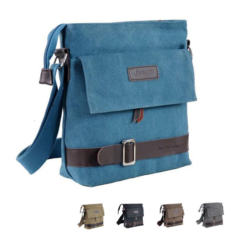 2015 Fashion Men Messenger Bag Casual Shoulder Bag High Quality Canvas Bag Men Bags 317(China (Mainland))
