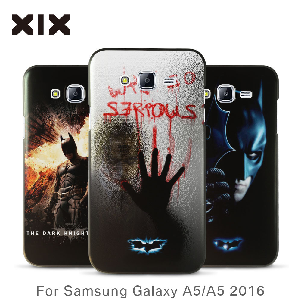 For coque samsung A5 case 2016 new arrivals for galaxy A5 case Batman PC back cover for fundas samsung galaxy A5 case wholesale(China (Mainland))