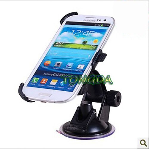 Windscreen Car Holder Mount For Samsung GALAXY S3 I9300 I9308 Mobile Phone GPS Car Windshield Support Suction Stand