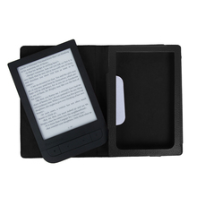 Smart PU leather cover case for 2016 pocketbook touch hd 631 ereader funda protective cover case +screen protector + stylus(China (Mainland))
