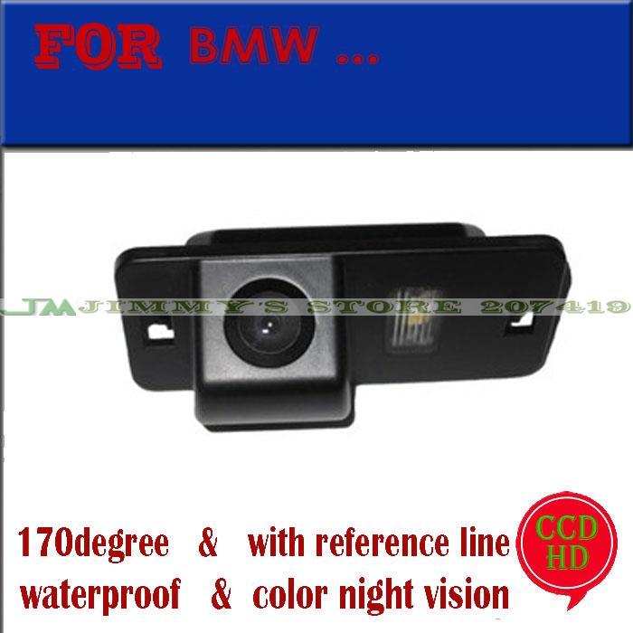 CCD Car Rear Camera for BMW 1 Series E82 3 Series E46 E90 E91 5 Series E39 E53 X3 X5 X6 Auto Backup Reverse kit NightVision(China (Mainland))