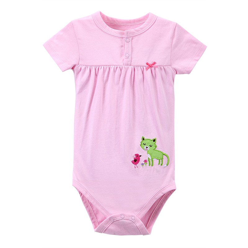 2016 Summer Baby Rompers Girls Kid Jumpsuit Baby Girl Romper Clothing Short Sleeve Vestidos Meninas Roupas Bebes Baby Rompers (2)