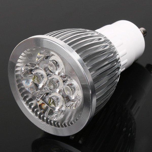 5pcs/lot LED Spotlight  GU10 AC85-265V 5W 450LM Warm White/Whire LED Lamp Spot light  Free Shipping<br><br>Aliexpress