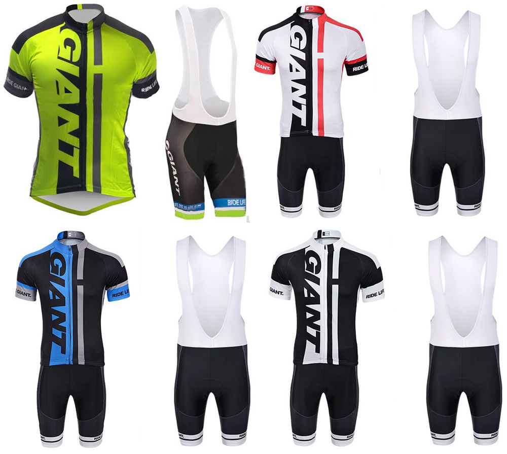 Hot selling high quality 2015 new arrival giant ropa ciclismo riding jersey made from quick-dry materials some size gel pad(China (Mainland))